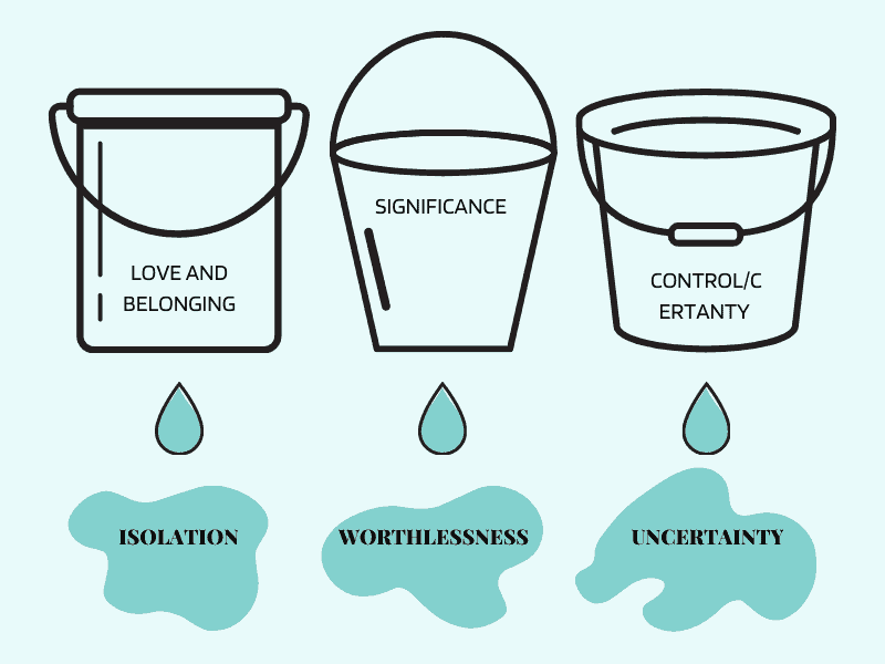 Basic Emotional Needs Diagram